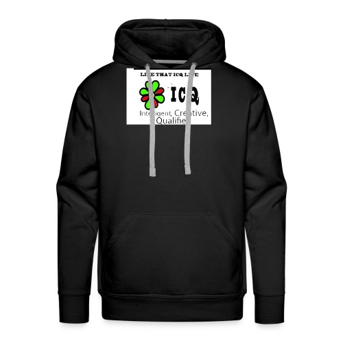 bunk new ICQ edited 33 - Men's Premium Hoodie