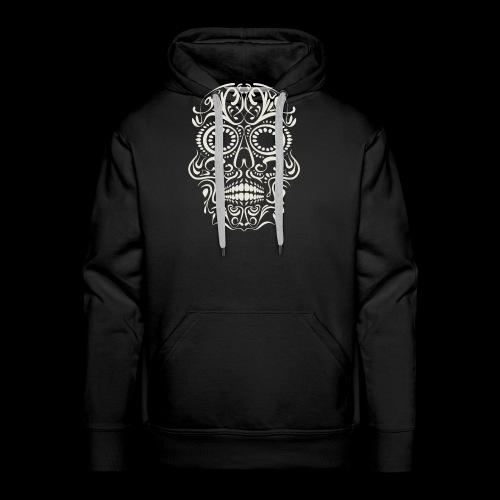 Sugar Skull Calavera - Men's Premium Hoodie