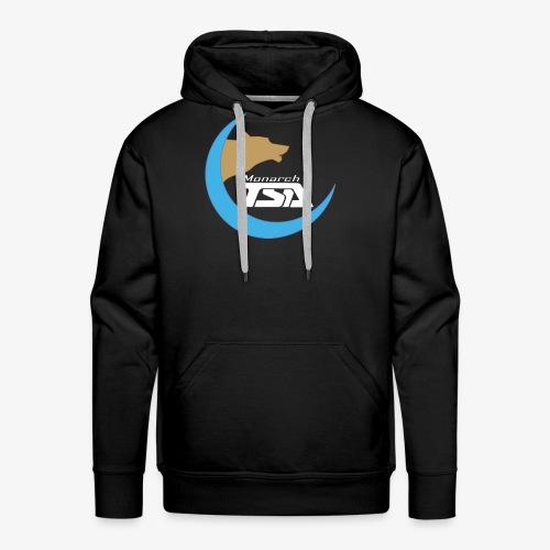 Monarch TSA Logo - White - Men's Premium Hoodie