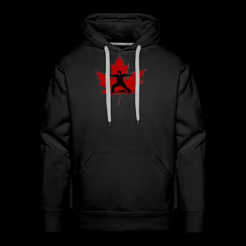 Canadian Warrior - Men's Premium Hoodie
