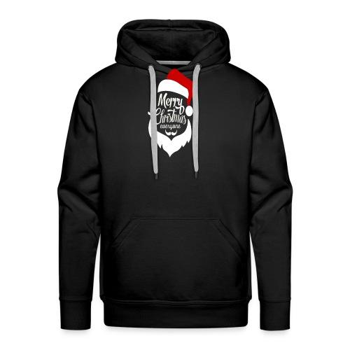 Merry Christmas Tee - Men's Premium Hoodie