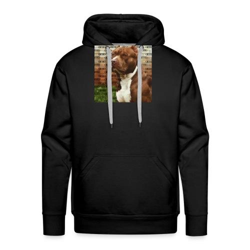 Pitbull- Faith Thread - Men's Premium Hoodie