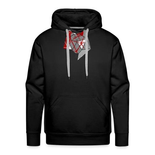 Abstract Wolf - Men's Premium Hoodie