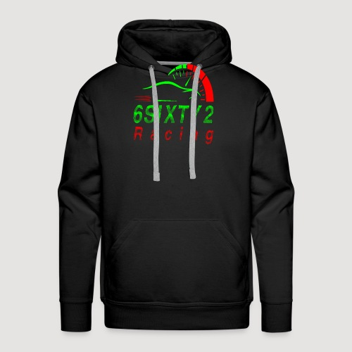 6sixty2 Racing3 MAIN PNG - Men's Premium Hoodie