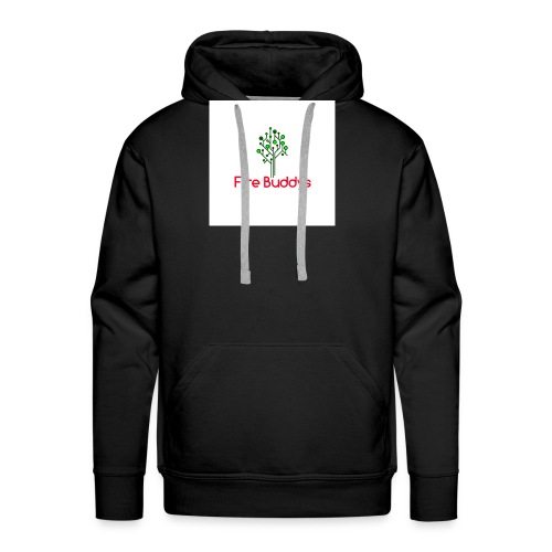 Fire Buddys Website Logo White Tee-shirt eco - Men's Premium Hoodie