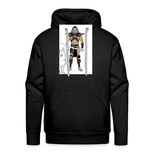 ninja 2 - Men's Premium Hoodie