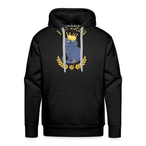 I am Queen - Men's Premium Hoodie