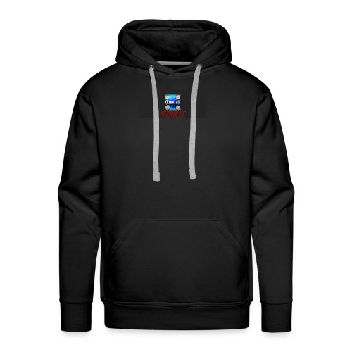 ItzRollie black, blue, and red. - Men's Premium Hoodie