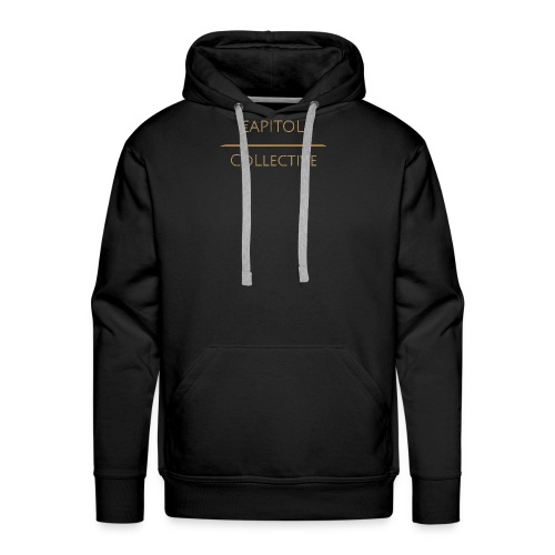 Capitol Collective (gold writing) - Men's Premium Hoodie