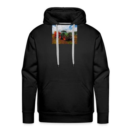 Tractor on a farm! - Men's Premium Hoodie