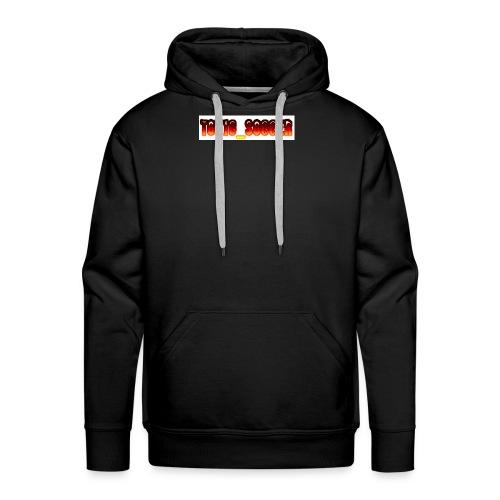 Toxic_Soccer - Men's Premium Hoodie
