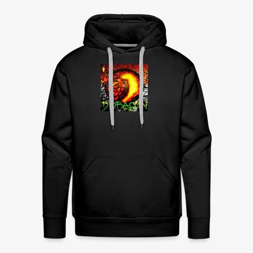Damian Dragon Logo - Men's Premium Hoodie