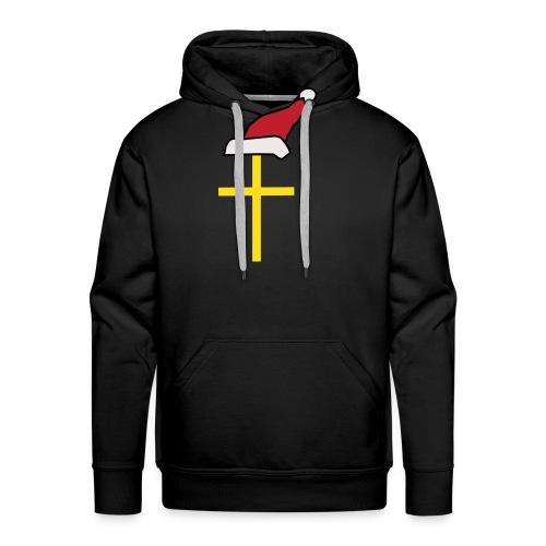 Santa Cross - Men's Premium Hoodie