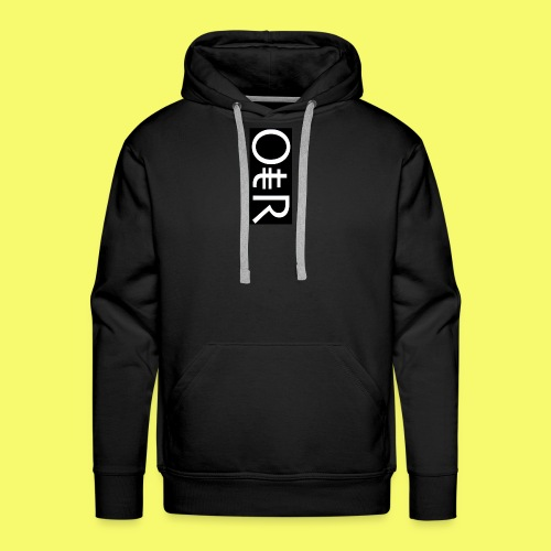 OntheReal coal - Men's Premium Hoodie