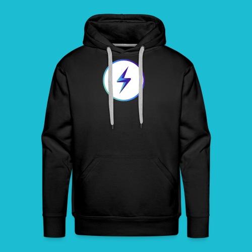 lightning logo - Men's Premium Hoodie