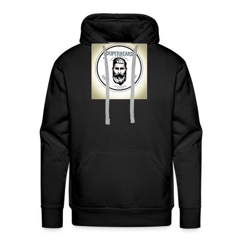 DUPERBEARD - ORIGINAL OIL - Men's Premium Hoodie