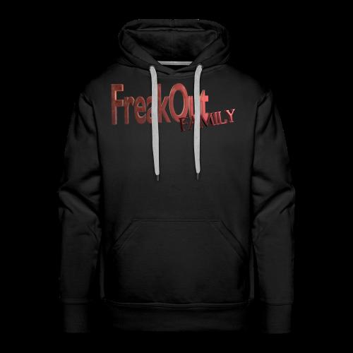FreakOut Family Logo Print - Men's Premium Hoodie