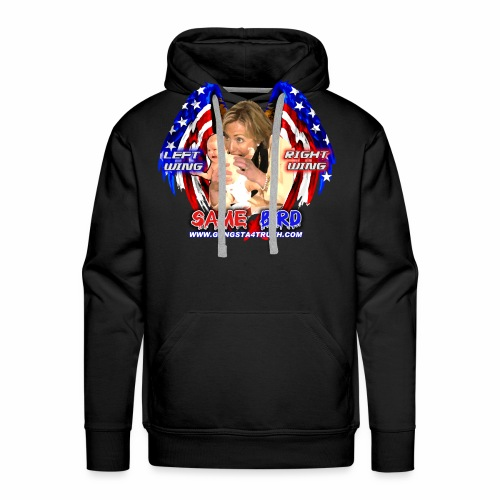 Left Wing Right Wing Eat A Baby - Men's Premium Hoodie