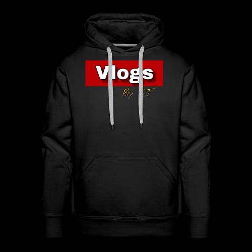 Vlogs by CJ - Men's Premium Hoodie