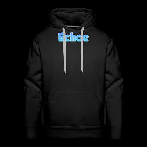 Echoe's Text Logo - Men's Premium Hoodie