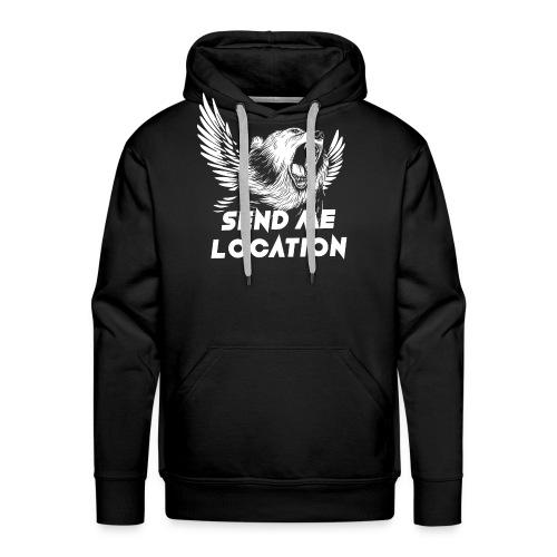 SEND ME LOCATION - Men's Premium Hoodie