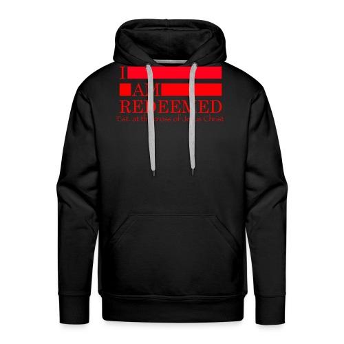 Redeemed (red) - Men's Premium Hoodie