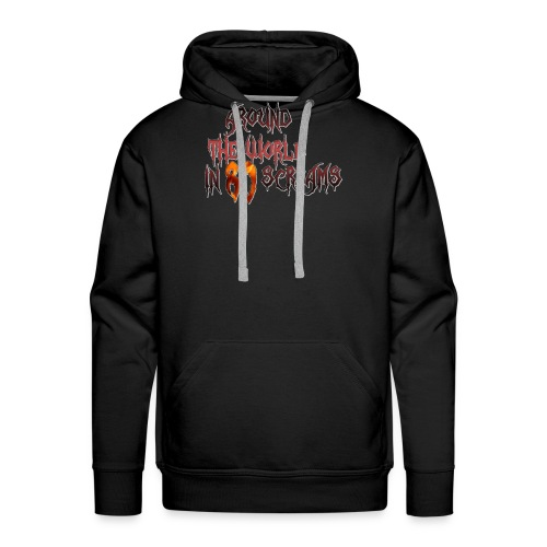 Around The World in 80 Screams - Men's Premium Hoodie