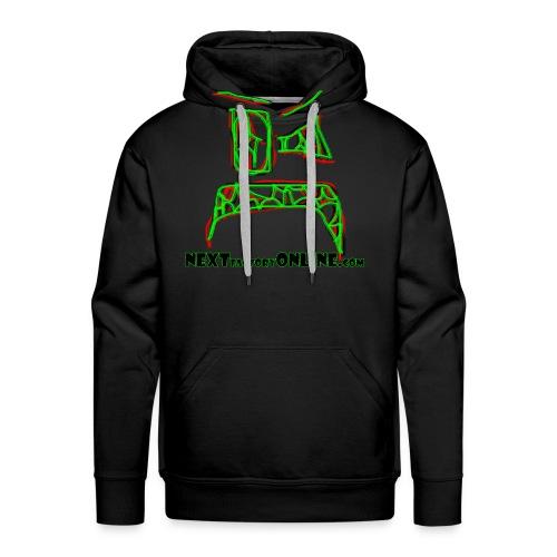Zoink Upset Green Black Red NEXTfactoryOnline - Men's Premium Hoodie