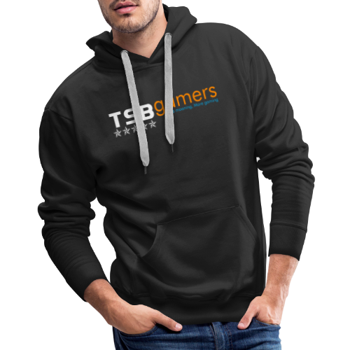 TSB White Website Logo FullColor - Men's Premium Hoodie