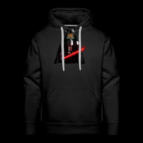 Power Tiger painting T-shirt - Men's Premium Hoodie