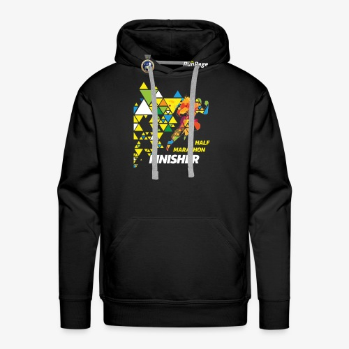 Half Marathon Finisher Shirt - Men's Premium Hoodie