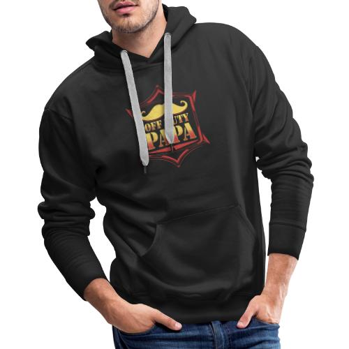 Off Duty Papa Gift For Dad On Father's Day - Men's Premium Hoodie