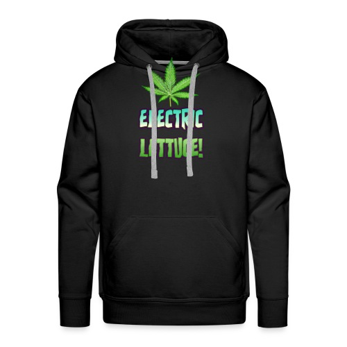 Electric Lettuce! - Men's Premium Hoodie