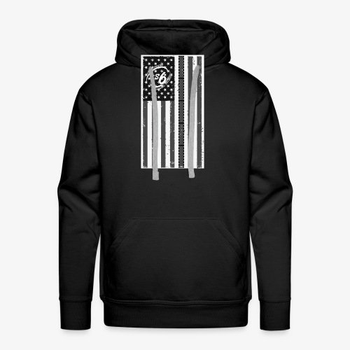 Tattered LS6 Theater Flag - Men's Premium Hoodie