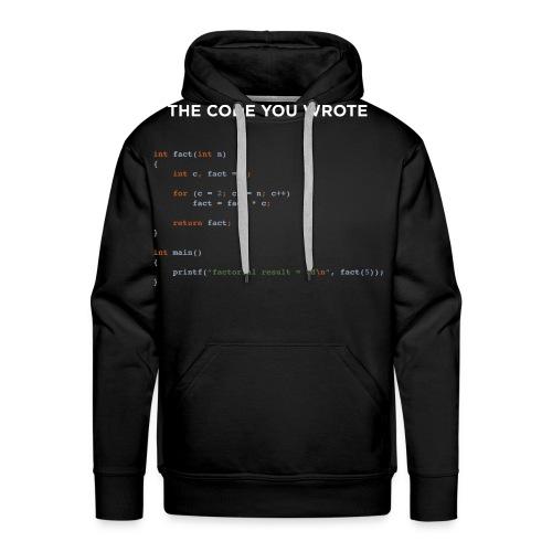 front 4000 png - Men's Premium Hoodie