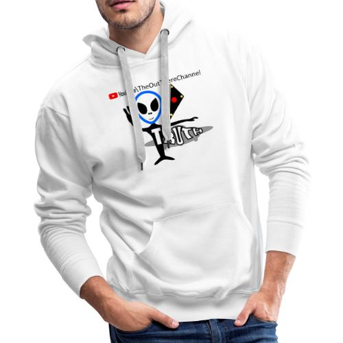 Tshirt NewOTLogo with Crew Back Logo - Men's Premium Hoodie
