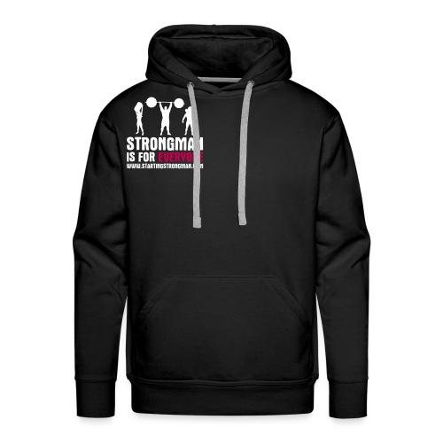 strongman is for everyone - Men's Premium Hoodie