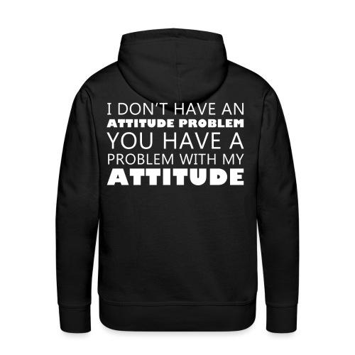 attitude - Men's Premium Hoodie