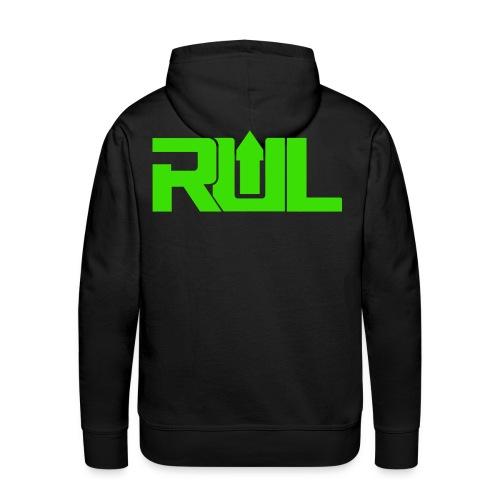 RUL Minimalist Logo - Men's Premium Hoodie