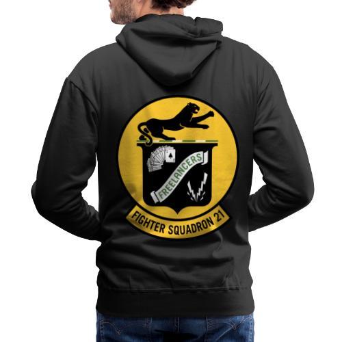 Fighter Squadron Twenty One VF-21 - Men's Premium Hoodie