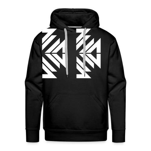 half_white_BVW - Men's Premium Hoodie