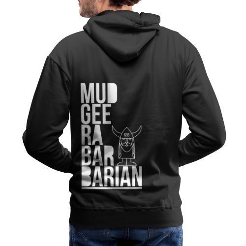 Mudgee Stack Black - Men's Premium Hoodie