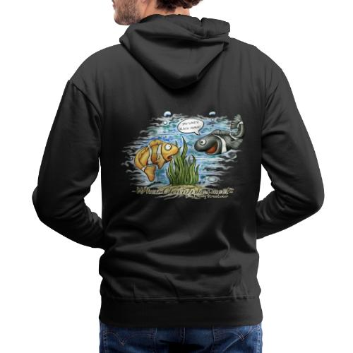 when clownfishes meet - Men's Premium Hoodie