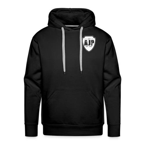 AJP Shield white - Men's Premium Hoodie