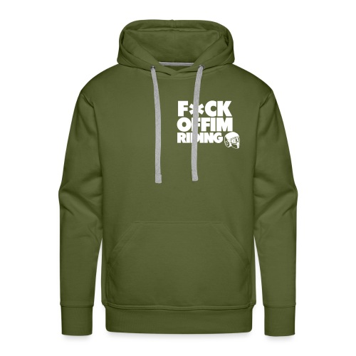 FCK OFF IM Riding - Men's Premium Hoodie