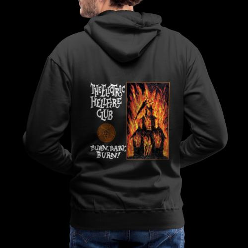 Electric Hellfire Club B - Men's Premium Hoodie