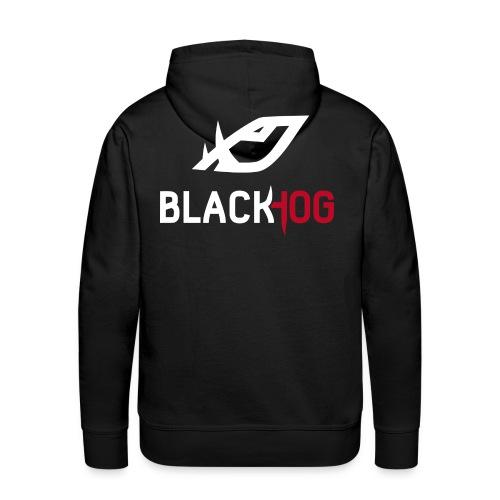 BH Logo white - Men's Premium Hoodie