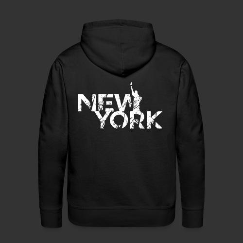 New York (Flexi Print) - Men's Premium Hoodie