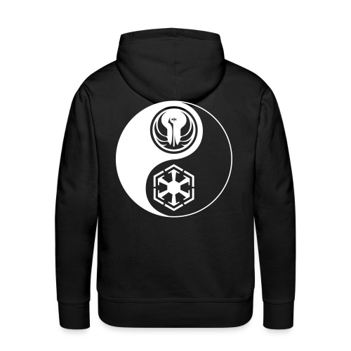 Star Wars SWTOR Yin Yang 1-Color Light - Men's Premium Hoodie