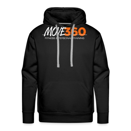 Move360 Logo LightGrey - Men's Premium Hoodie